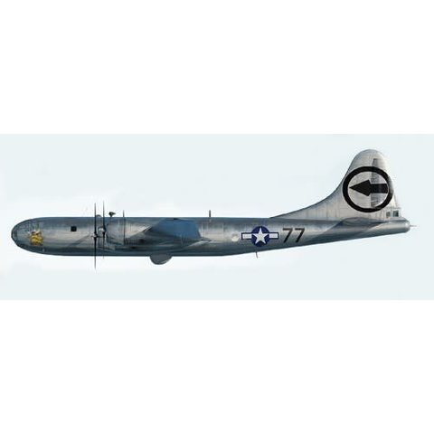 B29 Superfortress Bockscar (With Fat Man bomb) 1:144 (1:72)