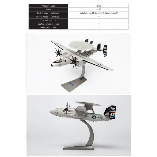 Air Force 1 Model Co. E2C Hawkeye VAW113 Black Eagles CAG NK-600 1:72