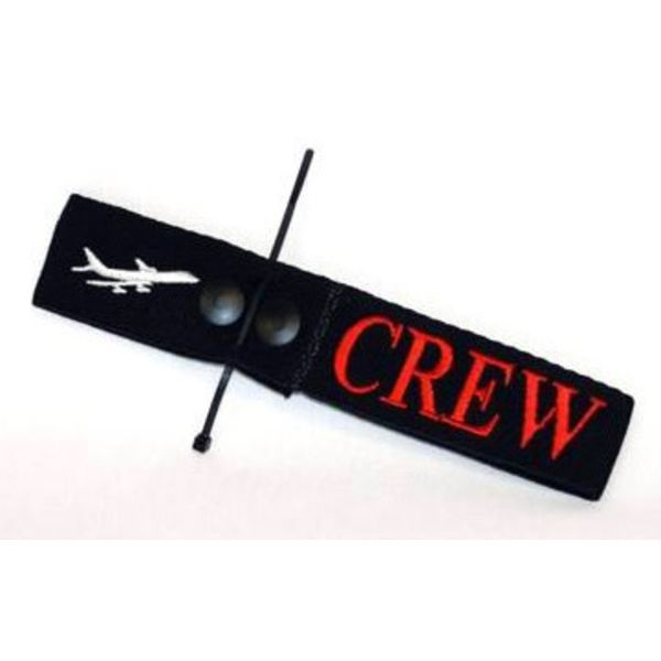Luggage Crew Tag Embroidered