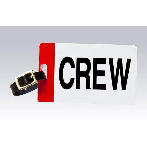 Luggage Crew Tag Plain