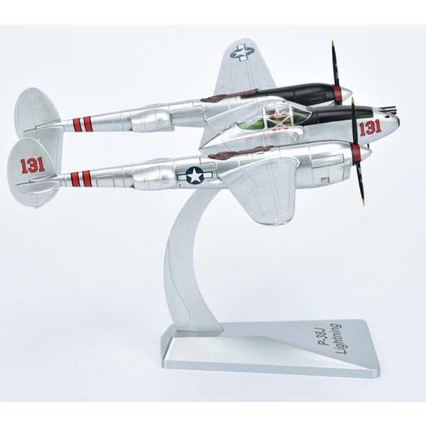 Air Force 1 Model Co. P38J Lightning 431FS 475FG USAAF Pudgy IV Major Thomas McGuire 131 1:48