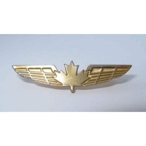 Pin CanadianWings Gold Medium CPS 1-3/4""
