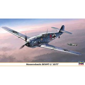 Hasegawa BF109T-2 JG77 1:48