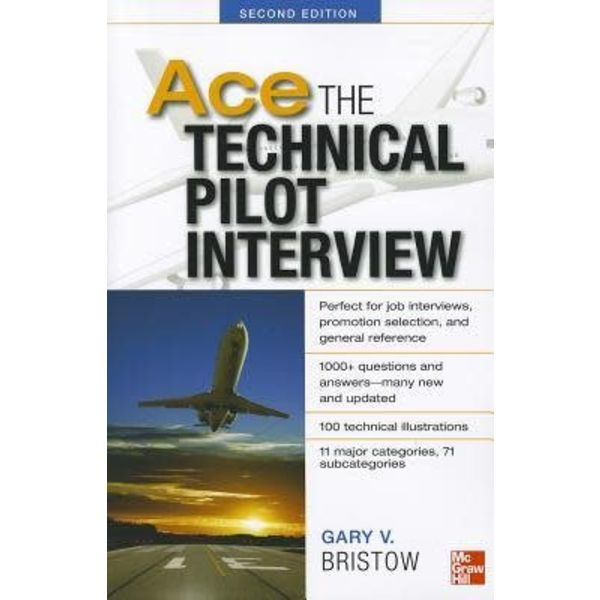 McGraw-Hill Ace The Technical Pilot Interview softcover 2nd Edition
