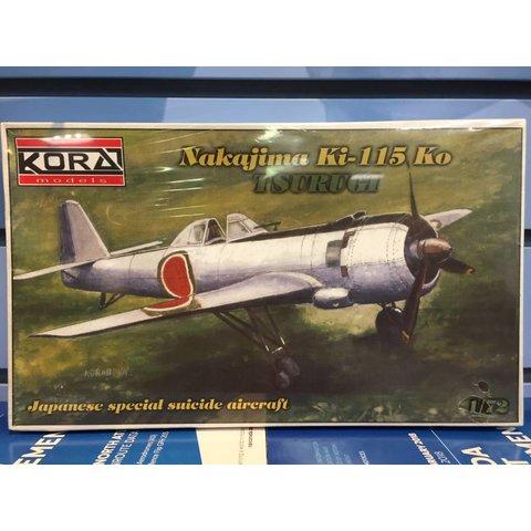 Nakajima Ki-115 Ko Tsurugi 1:72 Kit