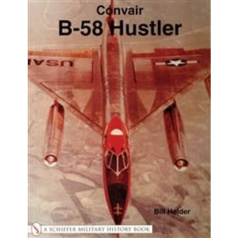 Convair B58 Hustler softcover