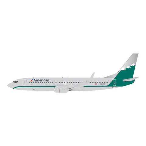 B737-800W American Reno Air Retro Livery 1:200 with stand