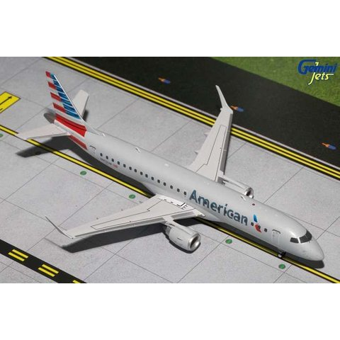 ERJ190 American 2013 Livery N953UW 1:200 with stand