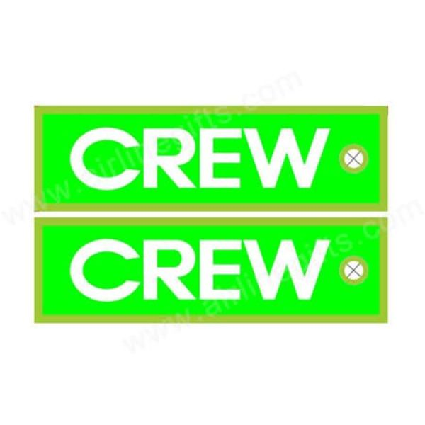 KEY CHAIN CREW LIME GREEN