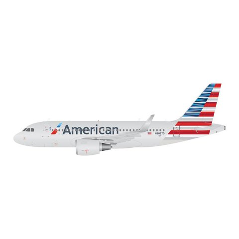 A319S American 2013 livery N8027D sharklets 1:400