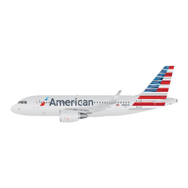 Gemini Jets A319S American 2013 livery N8027D sharklets 1:400