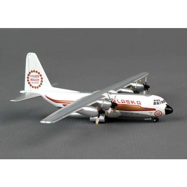 Gemini Jets L100/C130 Hercules Alaska Golden Nugget 1:400