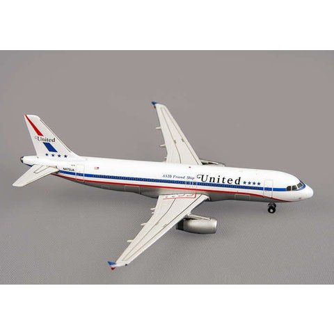 A320 United Friendship Retro N475UA 1:400