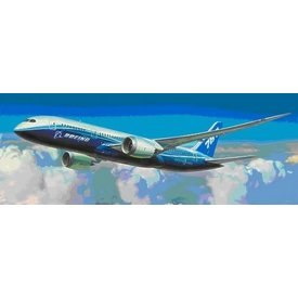 Zvesda B787-8 Dreamliner Boeing House Livery 1:144 Scale Kit