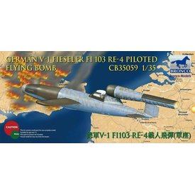 Bronco Model Kits V1 FI103 RE4 FLYING BOMB 1:35 Scale Kit