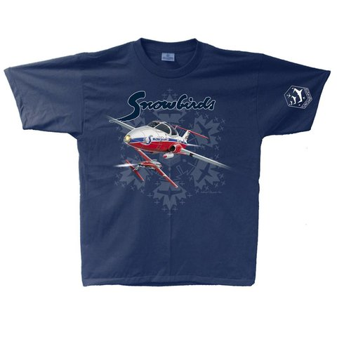 Snowbirds Adult T-Shirt LG
