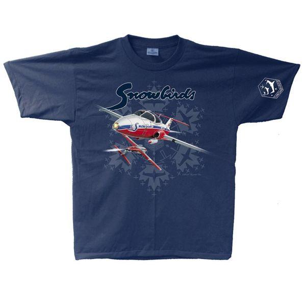 Labusch Skywear Snowbirds Adult T-Shirt MD