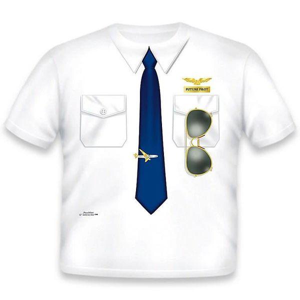 Kids Pilot Shirt Tee