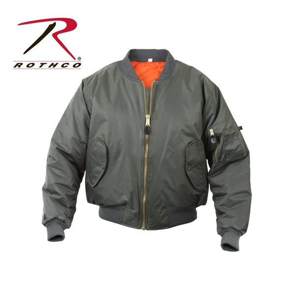 Rothco Kid's MA-1 Flight Jacket OD