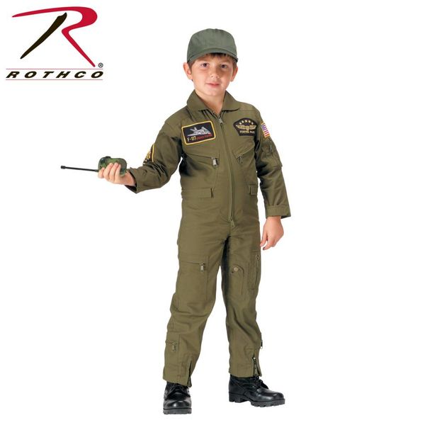 Rothco Kid's Flightsuit OD