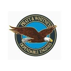 Pratt & Whitney P&W 10'' Sticker