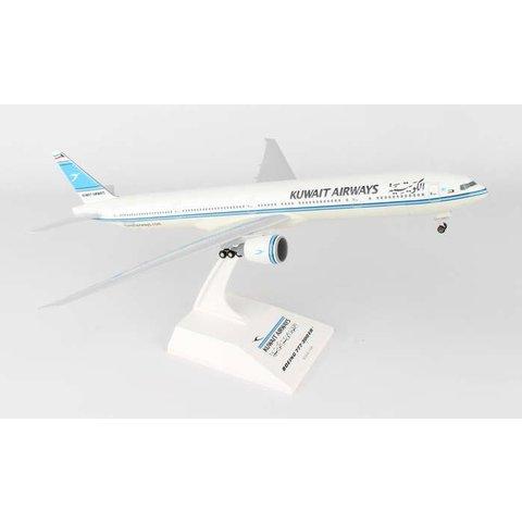 B777-300ER Kuwait Airways 1:200 with stand +gearW/Gear