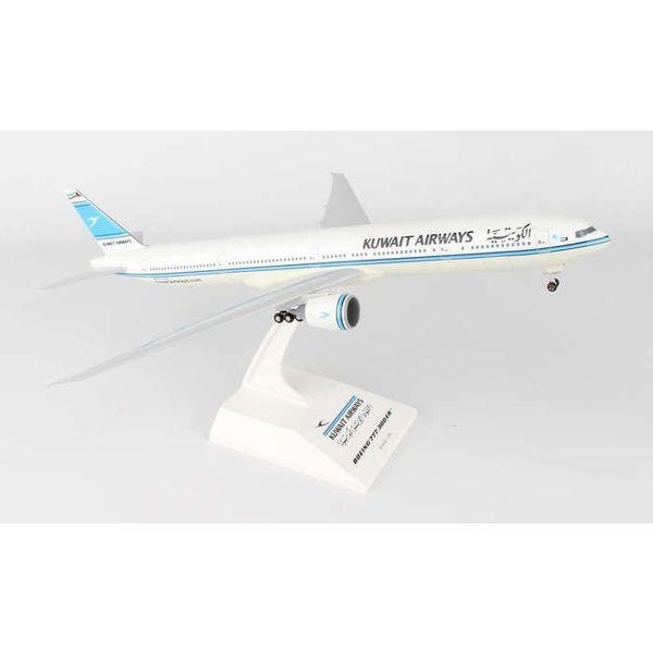SkyMarks B777-300ER Kuwait Airways 1:200 with stand +gearW/Gear