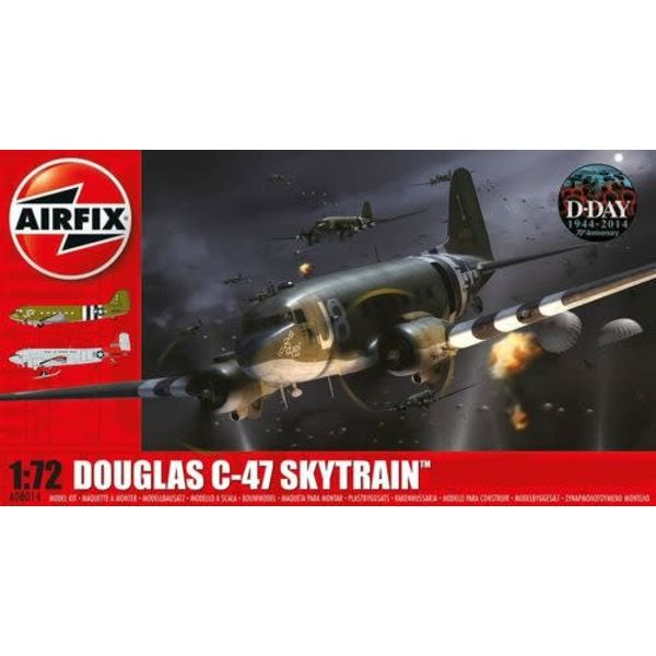 Airfix C47 DAKOTA DOUGLAS USAAF D DAY 1:72