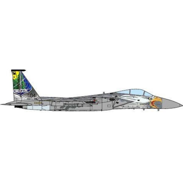 JC Wings F15C 173FW Oregon ANG 75th Anniversary 2016 1:72 (no stand)
