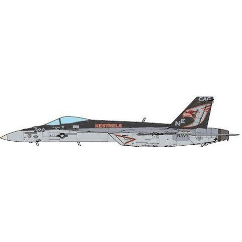 F18E Super Hornet VFA137 Kestrels CAG NE-200 CVN-73 USS George Washington 2015 1:72 (no stand)