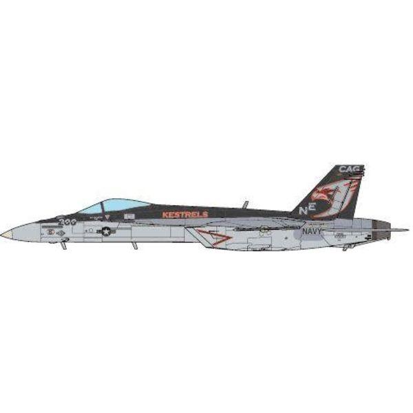 JC Wings F18E Super Hornet VFA137 Kestrels CAG NE-200 CVN-73 USS George Washington 2015 1:72 (no stand)