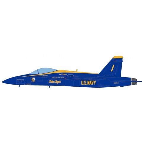 F18A Hornet Blue Angels #1 163442 US Navy 100 Years of Naval Aviation 2011 1:72 (no stand)