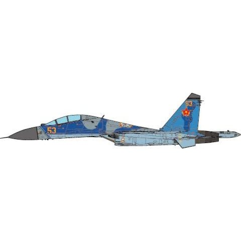 SU27UB Flanker C 604th Air Base Kazakhstan Air Force, 2010 1:72 (no stand)