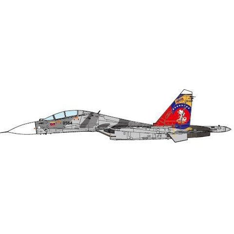 SU30MK2 Flanker G Venezuelan Air Force 0564 Grey camo 200 Years of Independence, 2011 1:72 (no stand)