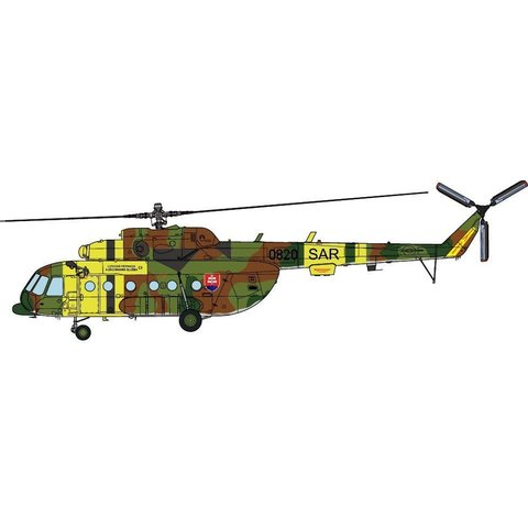 Mi17 Hip 1st Training and SAR Squadron Slovakia Air Force 0820 2014 1:72 (no stand)
