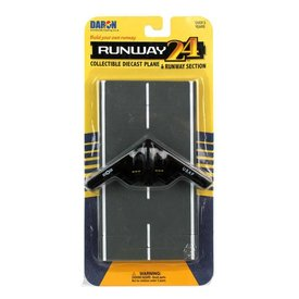 Runway 24 B2 Spirit Stealth Bomber USAF with runway section