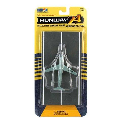 C5 Galaxy USAF Grey with runway section