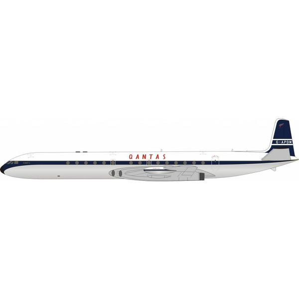 InFlight DH106 Comet 4 QANTAS G-APDM (ARD) 1:200 With Stand