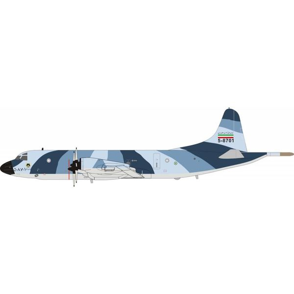 InFlight P3F Orion Iran Air Force 5-8701 blue/grey camo 1:200