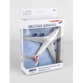 Daron WWT Airbus A380 British Airways Single Plane