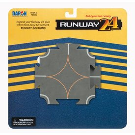 Runway 24 Runway Intersection Helipad (2 Pieces)