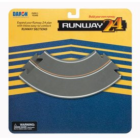 Runway 24 Runway Section Curves (2 Pieces)