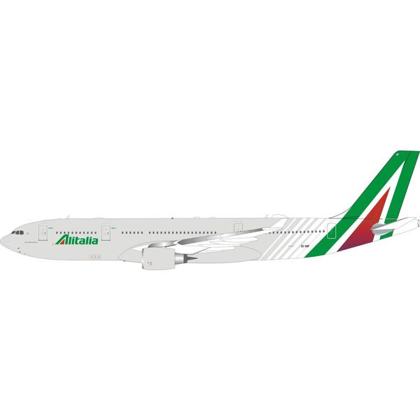 InFlight A330-200 Alitalia New Livery 2015 EI-DIP 1:200 with Stand
