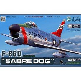 Kitty Hawk Models F86D SABRE DOG USAF 1:32 SCALE KIT