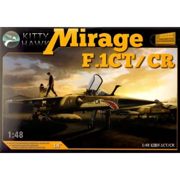 Kitty Hawk Models Mirage FICT/CR Armee de l'Air 1:48 Scale Kit
