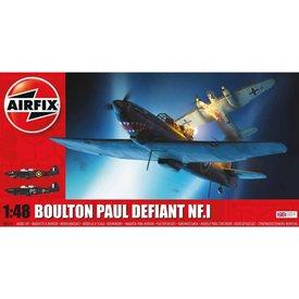 Airfix DEFIANT NF1 BOULTON PAUL 1:48 Scale Plastic Kit (New)