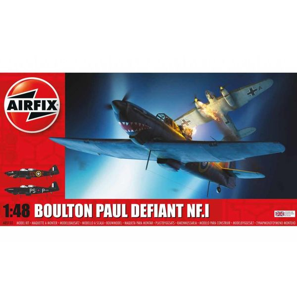 Airfix DEFIANT NF1 BOULTON PAUL 1:48 New