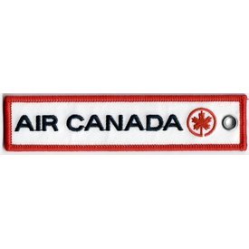 Key Chain Air Canada Retro Embroidered