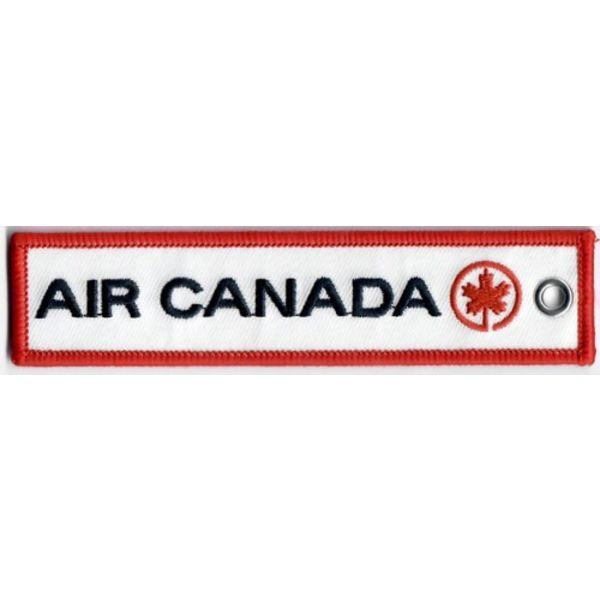 Key Chain Air Canada Retro Embroidered