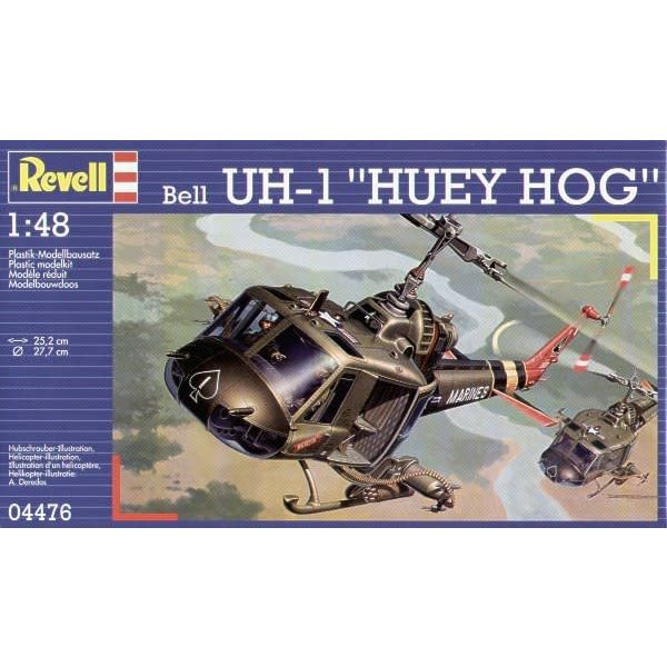 BELL UH1C/B HUEY HOG 1:48 Scale Kit